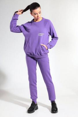 Спортивный костюм HIT 3080 фиолетовый