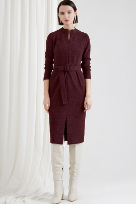Платье Moveri by Larisa Balunova 5030D бордо