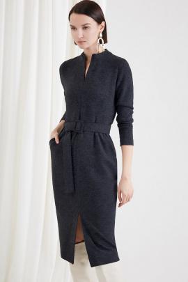 Платье Moveri by Larisa Balunova 5030D темно-синий