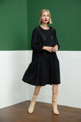 Платье Lokka 858 черный