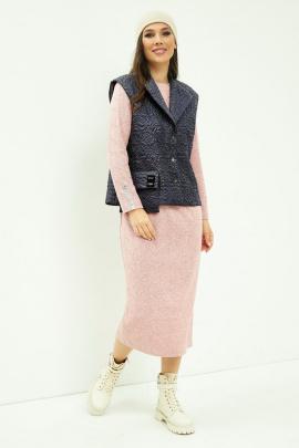 Комплект Магия моды 2012 розовый+сине-серый
