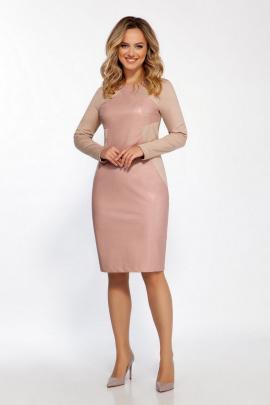 Платье Dilana VIP 1824 пудра