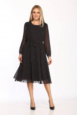 Платье Danaida 2068 черный/белый_горошек
