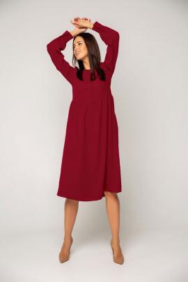 Платье Ivera 1042 бордо