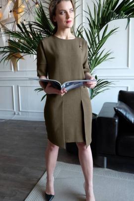 Платье Ivera 516 хаки