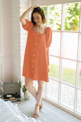 Платье Ivera 1029 оранжевый