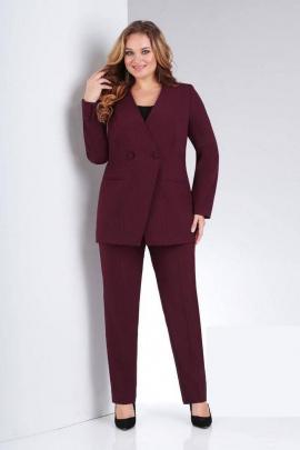 Женский костюм Vilena 654 винный