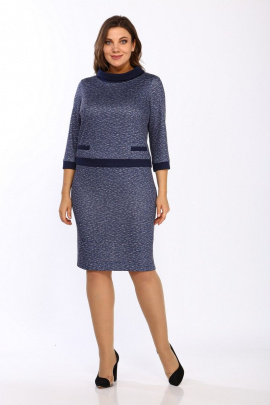 Платье Lady Style Classic 1505/2 синий