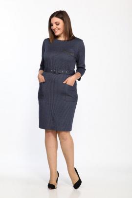 Платье Lady Style Classic 2002/6 синий
