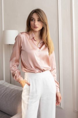 Рубашка LULA.BY LY2021BlousePink