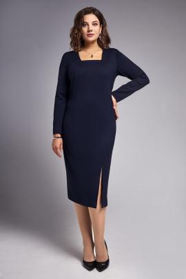 Платье IVA 1319 темно-синий