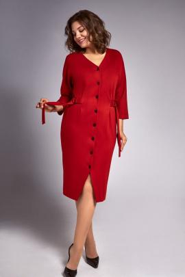 Платье IVA 1320 кирпичный