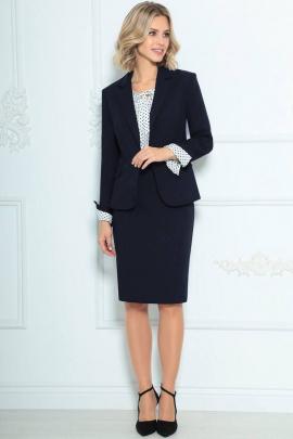 Женский костюм LeNata 31988 синий