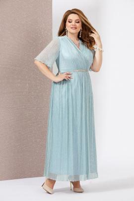 Платье Mira Fashion 4778-5 голубой