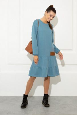 Платье Samnari Т140 сапфир