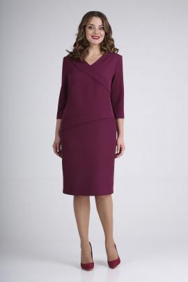 Платье ELGA 01-723 слива