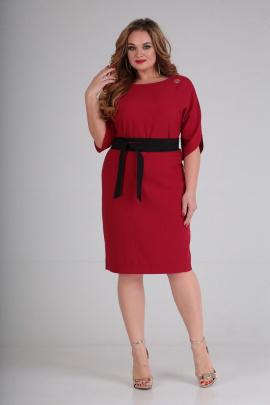 Платье SOVITA M-556 красный