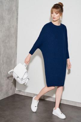 Платье Nelva 51047 синий
