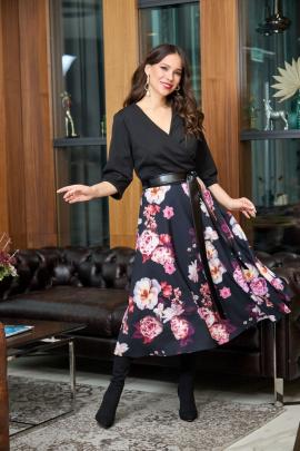Платье Anastasia 724 черный