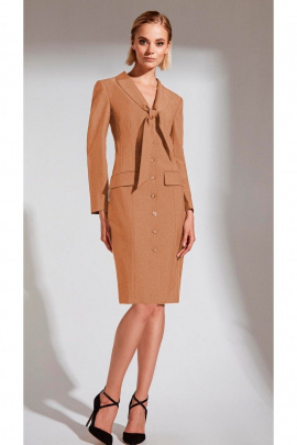 Платье Vladini VS4004 бежевый