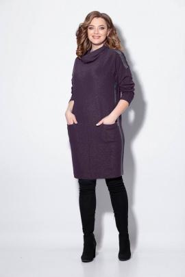 Платье Koketka i K 885-3 баклажан