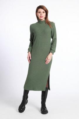 Платье IUKONA 5004 зеленый