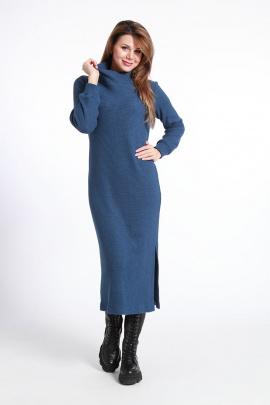 Платье IUKONA 5004 синий