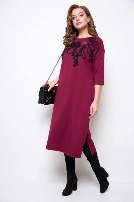 Платье Michel chic 2076 бордовый