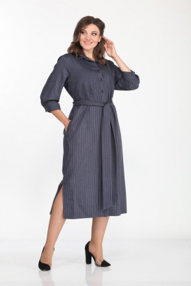 Платье Lady Style Classic 1337 синий