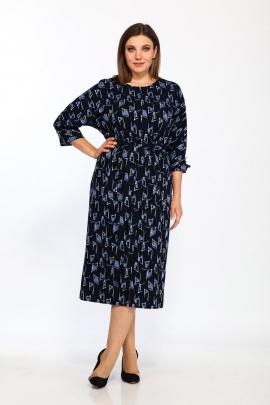 Платье Lady Style Classic 2175/4 синий