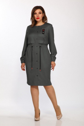 Платье Lady Style Classic 2349/1 серый