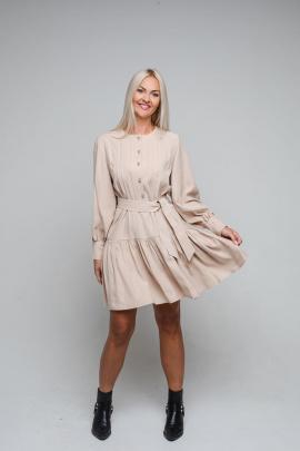 Платье Avila 0872 бежевый