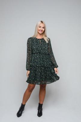 Платье Avila 0836 зеленый