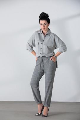 Женский костюм ElPaiz NEW 696 светло-серый