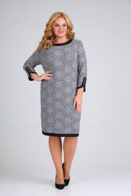 Платье Moda Versal П1789 серый