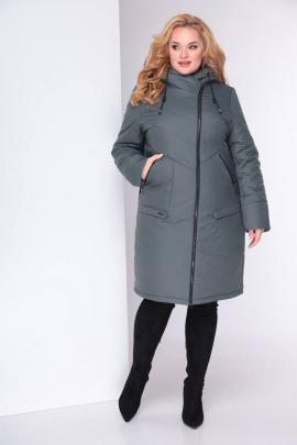Пальто Shetti 2024 темная_олива