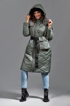 Пальто Mubliz 620 хаки