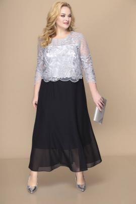 Платье Romanovich Style 1-1789 серебро