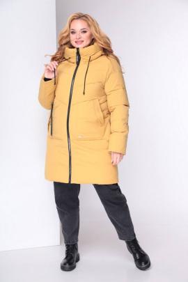 Куртка Shetti 2032 горчица