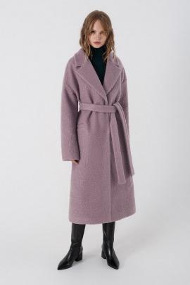 Пальто PiRS 3401 сиреневый