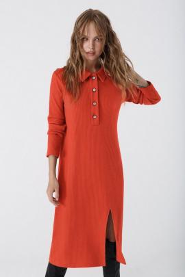 Платье PiRS 3426 оранжевый