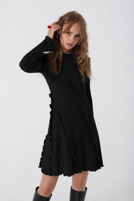 Платье PiRS 3438 черный