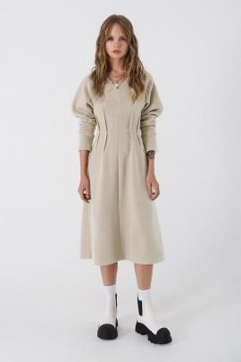Платье PiRS 3442 молочный