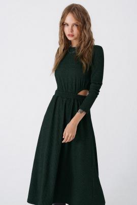 Платье PiRS 3444 изумруд