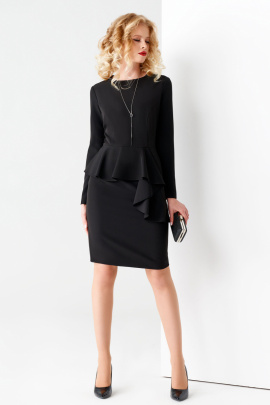 Платье Панда 51680z черный