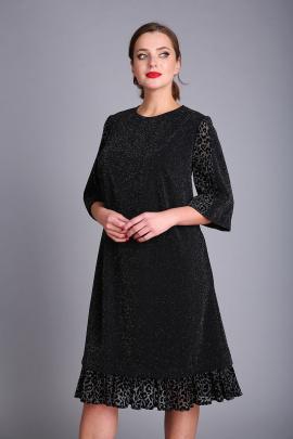 Платье Andrea Style 0411 черный