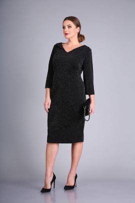 Платье Andrea Style 0426 черный