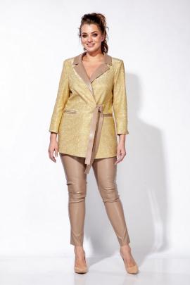 Женский костюм Belinga 2126 золото/капучино
