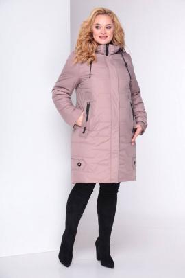 Пальто Shetti 2025 пудра