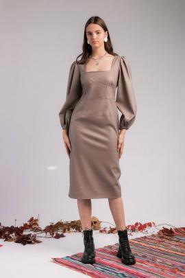 Платье TSURAN DR0DLC капучино